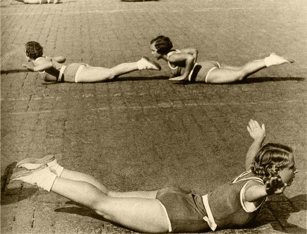 Ритмическая гимнастика. 1936.