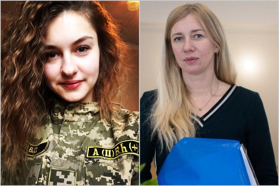 Валерія Сікал та Ольга Деркач - військовослужбовиці, які публічно заявили про домагання