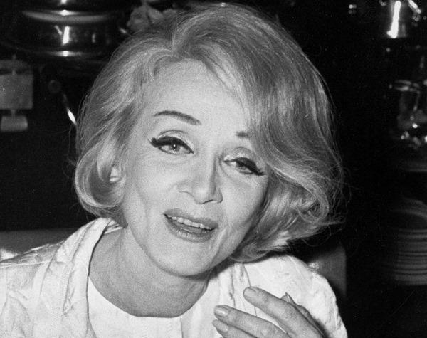 Марлен Дітріх, німецька акторка й співачка