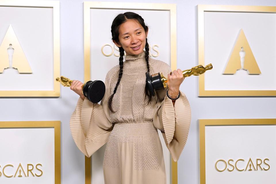 Хлої Чжао, режисерка фільму «Земля кочівників» (Оскар-2021)