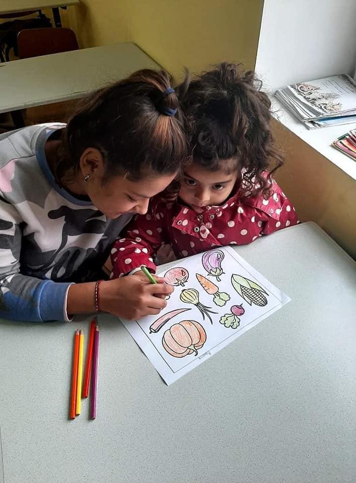 """Найменші дітки, які навчаються у центрі """"Благо"""" в Ужгороді"""