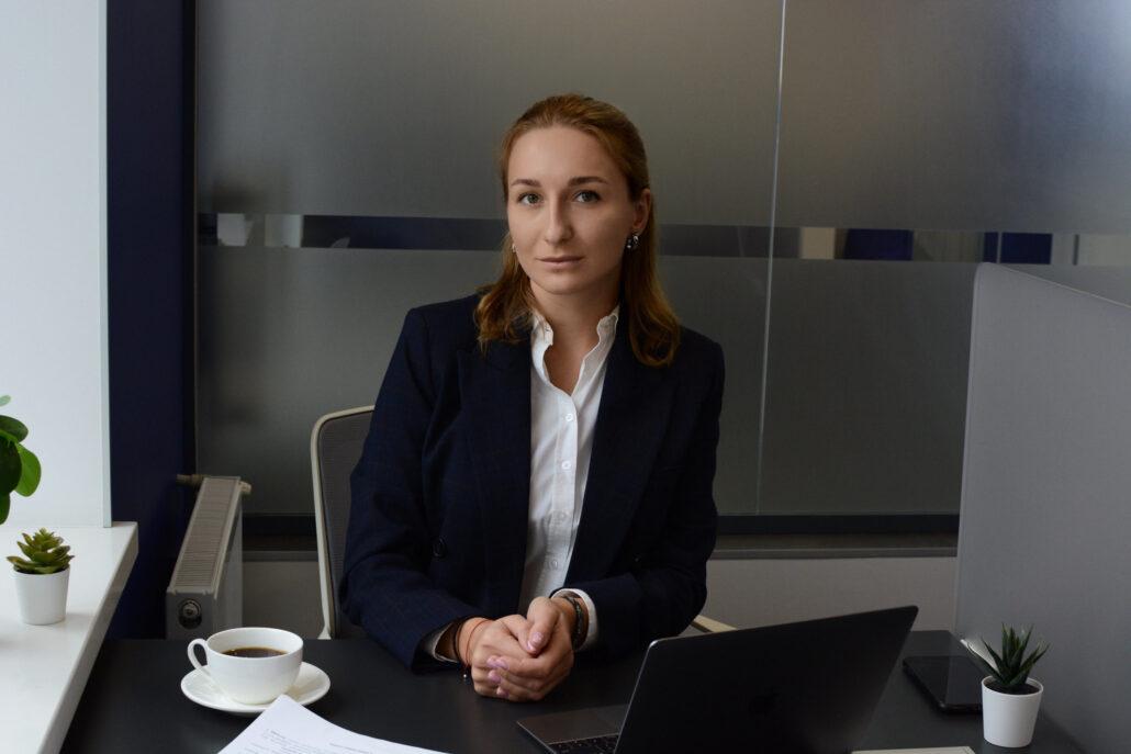Яна Сайченко, адвокатка, членкиня ГО «ЮрФем»