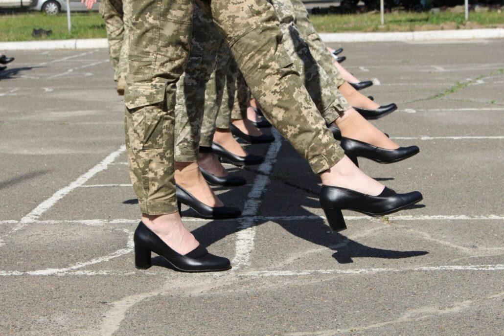 """Тренування """"жіночої коробки"""" до параду до Дня Незалежності"""