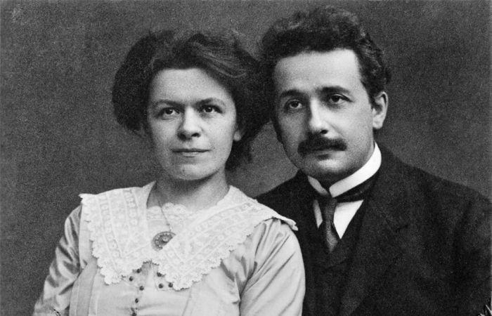 Мілева Марич та Альберт Айнштайн